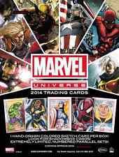 2014 Marvel Universe 2: MASTER SET: Shadowbox, Sapphire, Avengers Orig.+ BV=$227