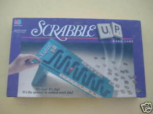 SCRABBLE UP Board Game by Milton Bradley