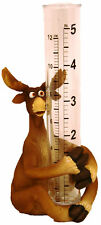 "Rain Gauge, Moose  5"" total measure"