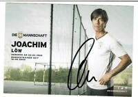 Tr.Joachim Löw    AK 2014 DfB Trikot mit original Unterschrift