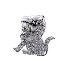 Unisex Halsketten & Anhänger mit Tier- & Insekten echten Edelsteinen aus Sterlingsilber