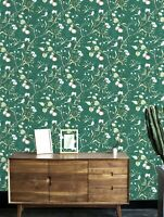2-Floral Print Wallpaper Sticker Self Adhesive Contact Paper Free Shipping Sale