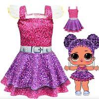 Vestito Bambole LOL  bambina compleanno costume carnevale