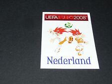 N°254 MASCOTTES PAYS-BAS NEDERLAND PANINI FOOTBALL UEFA EURO 2008