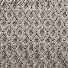 G.P. J. Baker Cut Velvet Diamond Upholstery Fabric- Lamberhurst Mushroom 5.25 yd