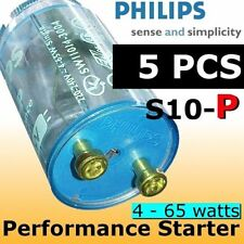 5x Philips Fluorescent Ultra Violet Light TLD Tube Starter S10-P 4-65w aquarium