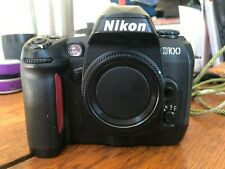 Nikon D100 6.1 MP Digital SLR Camera - Black (Body Only) Please Read