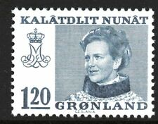 Greenland 1974 120 Ore Queen Margrethe II Mint Unhinged