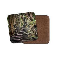 Puente De Dragón Bali Coaster-Mono Bosque santuario Bosque Selva Regalo #14136