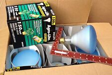 BOX of 6 GROW LIGHT BULB 150w flood 150 watt R40 plant lite Philips Agro-lite