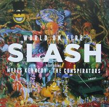 Slash Feat Myles Kennedy And The Conspirators – World On Fire Vinyl 2LP NEW
