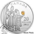 Canada 2012 $20 Three Wise Men Pure Silver Coin