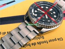 22mm Solid Stainless Steel Oyster Replacement Bracelet For SKX007 009 6309-7040