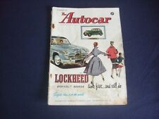 The Autocar Magazine - 17th August 1956