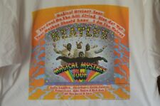 Vintage 90's The Beatles Magical Mystery Tour LP T Shirt XL