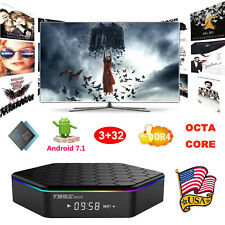 2017 3+32GB DDR4 Android 7.1 Amlogic S912 Octa Core Smart TV BOX 4K HDMI Movies