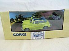 Corgi 96754. Morris Minor Convertible. Yellow with Blue Interior.