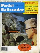 Model Railroader Magazine October 1977 Linn Westcott reflects on his career