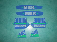 Lot autocollants MBK 51 Club Salsa
