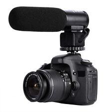 DSLR Camera Microphone Video Audio Shotgun Mic for Canon Nikon Gopro