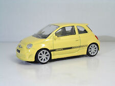 "MondoMotors 53140 ABARTH 500 ""Yellow"" - METAL 1:43"