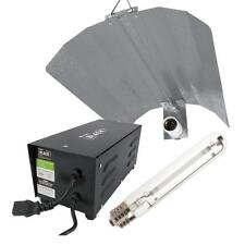 LUMii Black 600 W Metal Magnetic Vented Ballast Grow Light Kit Hydroponics
