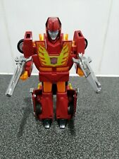 Transformers Hot Rod Complete With Guns 1980's Vintage Toy Hasbro