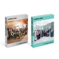 WANNA ONE 1¹¹=1 POWER OF DESTINY [Adventure+Romance ver. SET] + Free Gift Cards