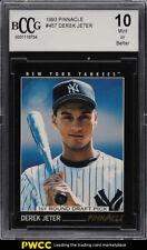 1993 Pinnacle Derek Jeter ROOKIE RC #457 BCCG 10 PR (PWCC)
