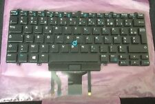 NEW DELL LATITUDE E7450 E5450 FRENCH AZERTY BACKLIT KEYBOARD NSK-LK0BC 0W93F7