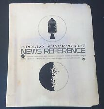 Vintage Original NASA Apollo Spacecraft News Reference, rare hard to find