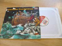LP Biblische Geschichten Teil 1 Arche Noah  Vinyl EUROPA Jugendserie E 227