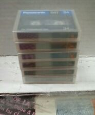 Panasonic Sealed DAT 34 Minutes Sealed Tapes Collection