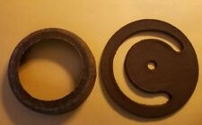2pc  PITCHER PUMP Repair Parts CUP &  LOWER VALVE ~NOS USA Leather Caldwell