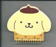 Sanrio Pom Pom Purin Spiral Notebook Hard Cover Die Cut