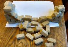 120 Building Blocks / Bricks for 12-Inch GI Joe Diorama