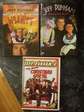 Jeff Dunham~Spark of Insanity/Arguing with Myself/Christmas Special~3 DVD Lot