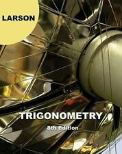 Trigonometry, 8th Edition, Larson, Ron, Good,  Book