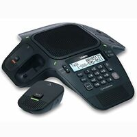 VTech ErisStation VCS704 DECT 6.0 Conference Phone w/ Four Wireless Mics