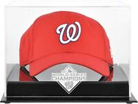 Washington Nationals 2019 World Series Champions Acrylic Logo Cap Display Case