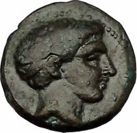 Phalanna in Thessaly 3-2CenBC Ares Nymph Authentic Ancient Greek Coin i53305