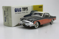 gray GFCC TOYS  1:43  1955 Studebaker Speedster-Coupe Alloy car model sports