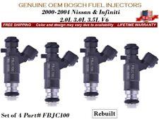 4 Fuel Injectors OEM Bosch For 2003-2004 NISSAN 350Z 3.5L *FBJC100