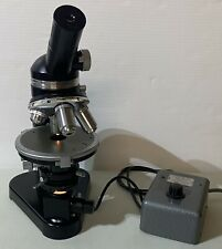Leitz Polarizing Microscope With 35x 10x 25x And 50x Pol Objectives