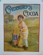 Cadbury's Cocoa Posters - 3 designs - (New)