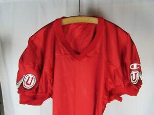 Vtg NOS 80s Champion University of Utah Utes Practice Football Jersey Team Issue
