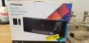 Polaroid Flat CD Micro System PLA18AV003 with Remote