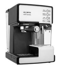 Mr. Coffee Cafe Barista Espresso and Cappuccino Maker Silver and black 2 shot
