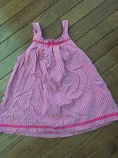 Liz Claiborne ~ Girl's Pink Gingham Dress ~ 24 Months ~ So Cute!