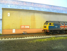 LINESIDEANDLOCOS OO GAUGE DIESEL DEPOT BACKSCENE (NEW PRODUCT)